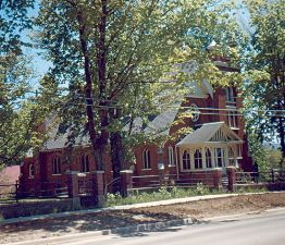 St George's Anglican Church in Clarksburg (1988.004.016)