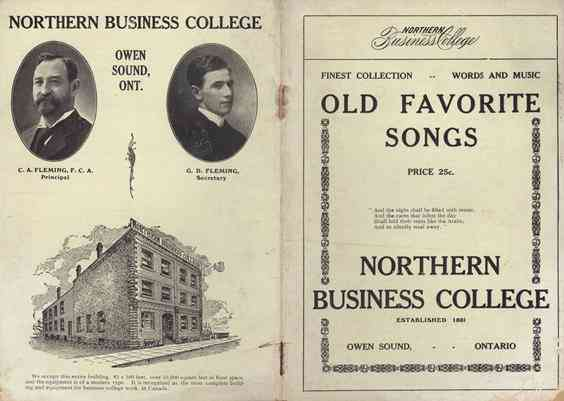 Finest Collection Old Favorite Songs Norther business college