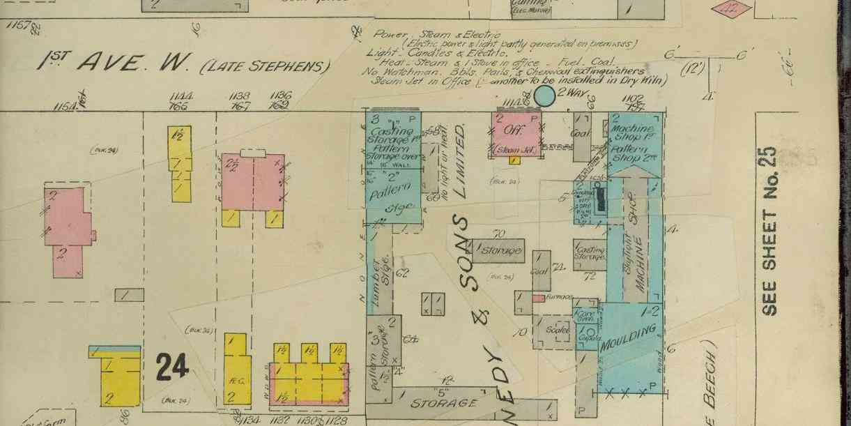 Owen Sound Fire Insurance Map 1907-1911, Page 24