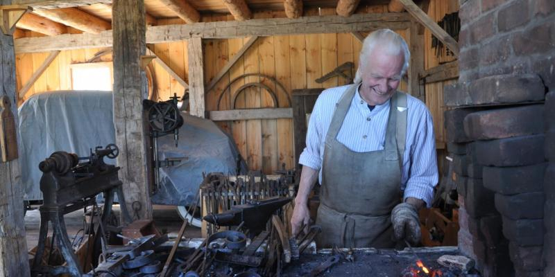 Jim Blacksmithing