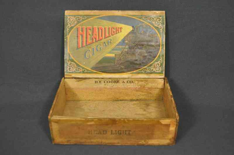 Cigar Box H. E. Cooke & Co.