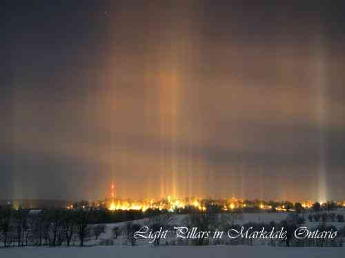 Markdale Light Pillars