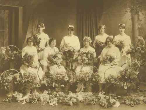 General and Marine Hospital Nursing School 1930 Graduates