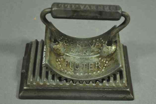 19th-century dressmakers ironing device