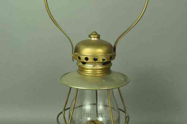 Lantern from City of Owen Sound Ship that shipwrecked in 1901