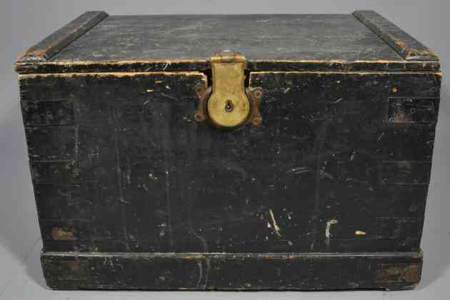 A child's trunk from the Barnardo children's home