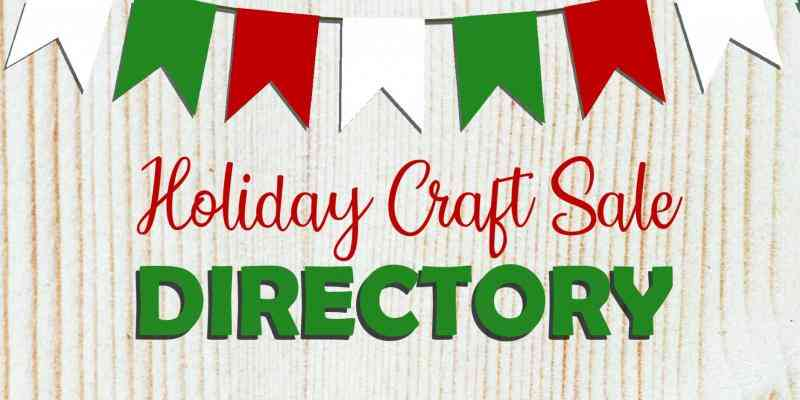craft sale directory