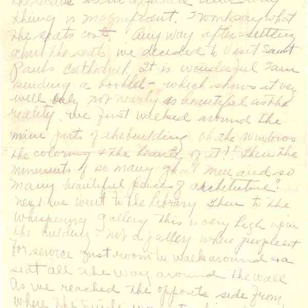 Original Letter from Miss Euphemia Denton to Mrs. Helen Denton (Page 3)