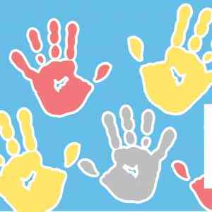 Toddlers Early ON hand prints