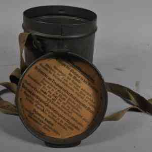 First World War German Gas Mask Carrying Case